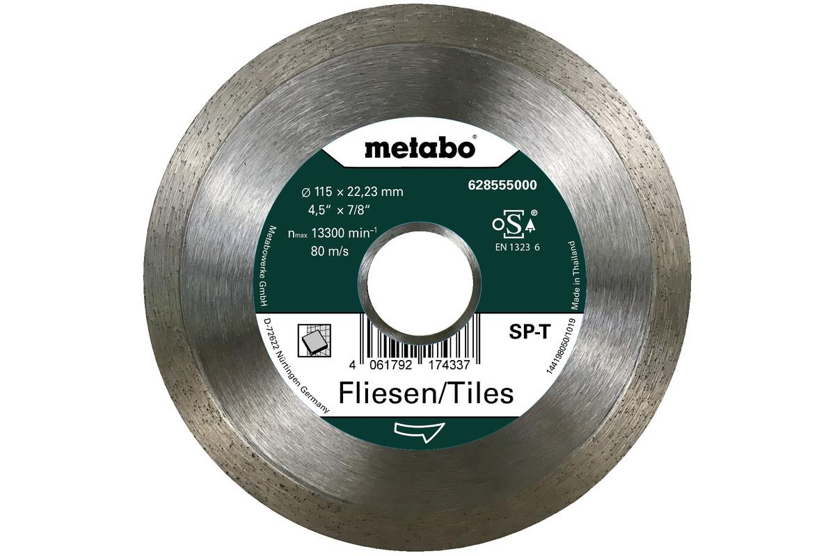 Diamantskæreskive SP - T, 115x22,23 mm, fliser (628555000)