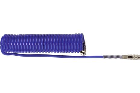 Spiralslange PU Euro 8 mm x 12 mm / 6 m (0901062145)