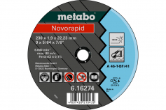 Novorapid 180 x 1,5 x 22,23 mm, Inox, TF 41 (616273000)