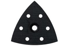Hullet slibeplade med burrelås til trekantsliber (624992000)