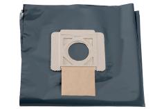 5 PE-affaldsposer - 25-30 l, ASA 25/30 L PC/ Inox (630298000)