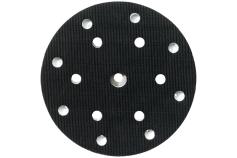 Bagskive 150 mm, hullet, middelhård, 6/8 huller (631150000)