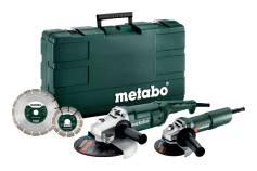Combo Set WE 2200-230 + W 750-125 (685172510) Netdrevne maskiner som sæt