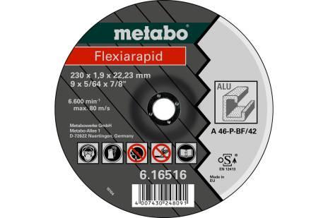 Flexiarapid 230 x 1,9 x 22,23 mm, alumiinium, TF 42 (616516000)