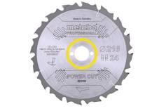 "Saeleht ""power cut wood - professional"", 216x30, Z24 WZ 5° neg. (628009000)"