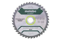 """Saeleht """"cordless cut wood - classic"""", 216 x 30 Z40 WZ 5° (628065000)"""