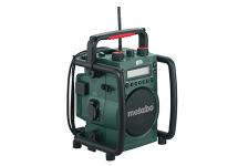 Radio / cargadores de baterías, de batería, para obras
