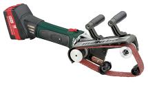 Lijadora de cinta para tubos de batería