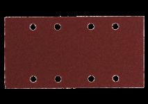 Hojas de lijar adhesivas 93 x 185 mm, 8 perforaciones, con enganche con tejido autoadherente
