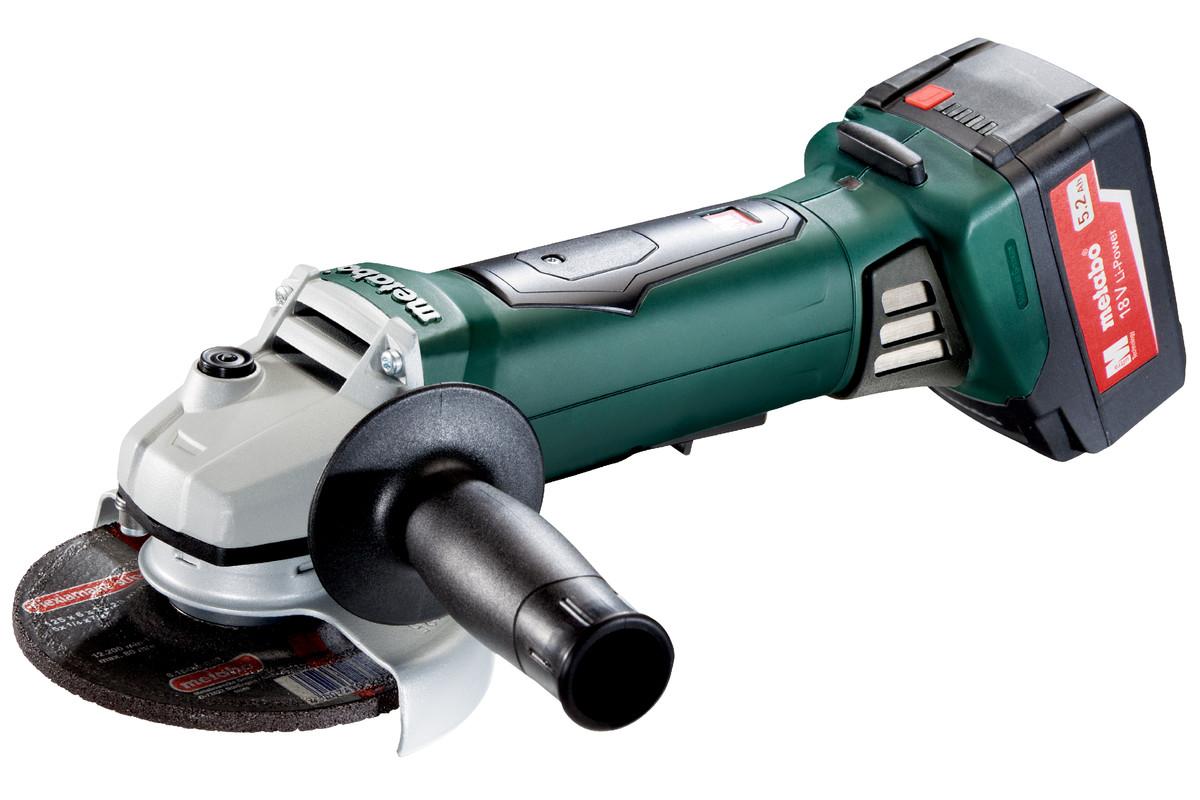 WP 18 LTX 125 Quick (613072500) Amoladora angular de batería