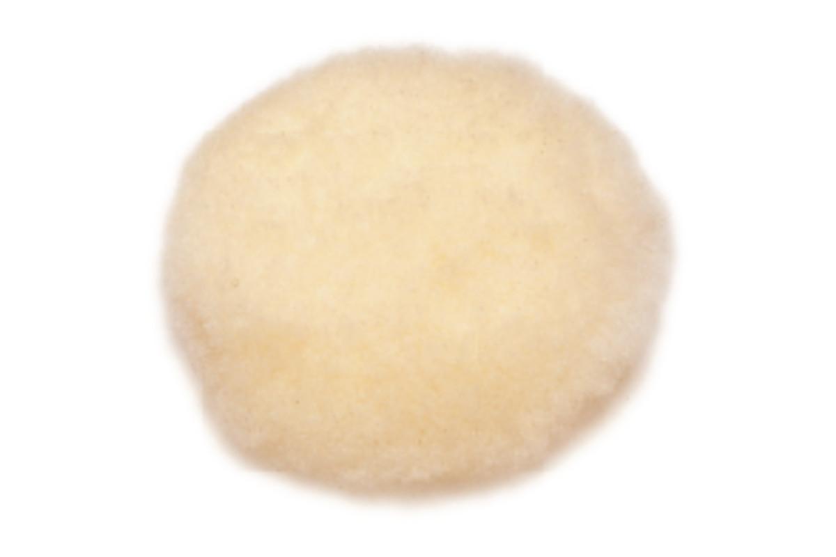 Disco de pulir adhesivo en piel de cordero 115 mm (624911000)