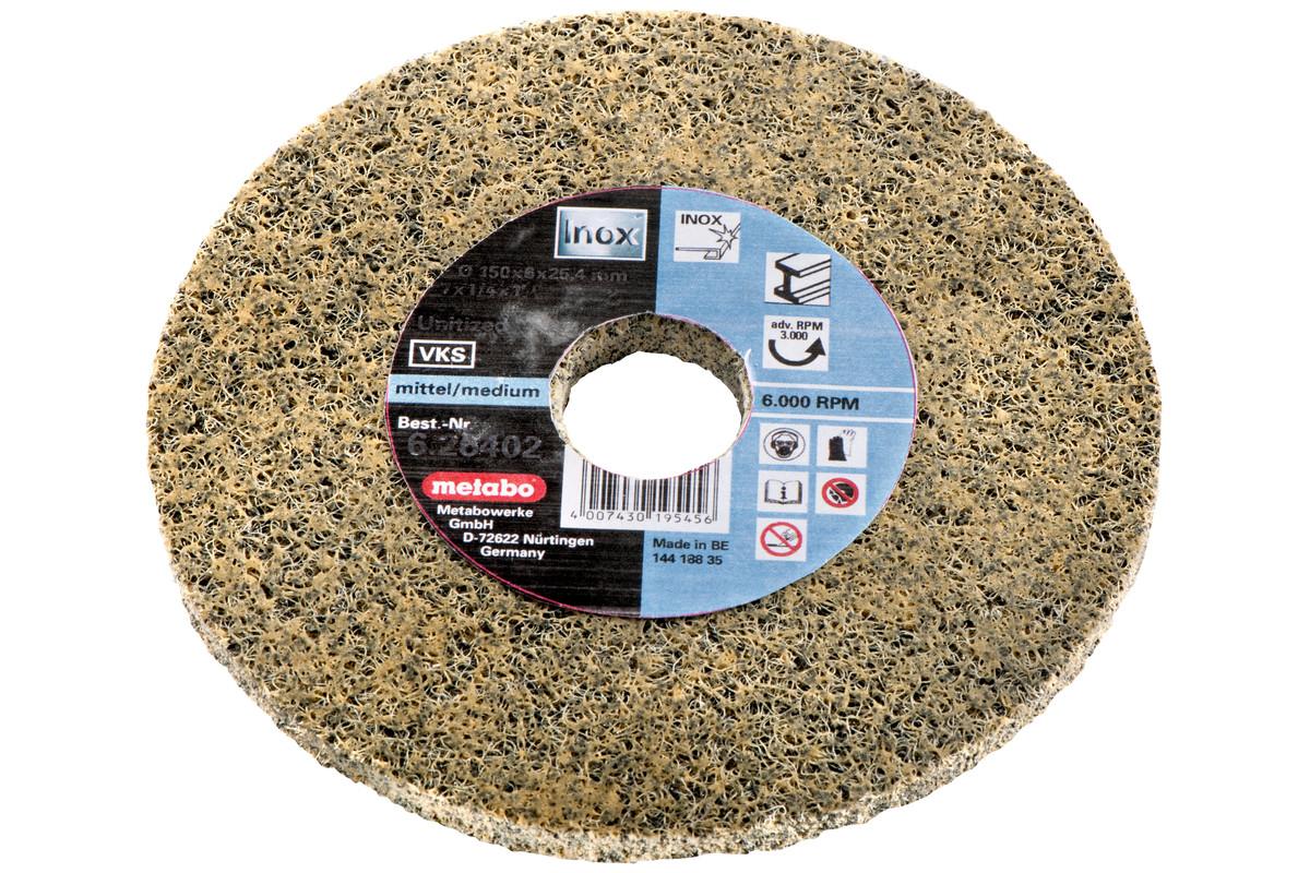 Discos abrasivos compactos de vellón Unitizados, medio, 125x6x22,23 mm, amoladoras angulares (626483000)