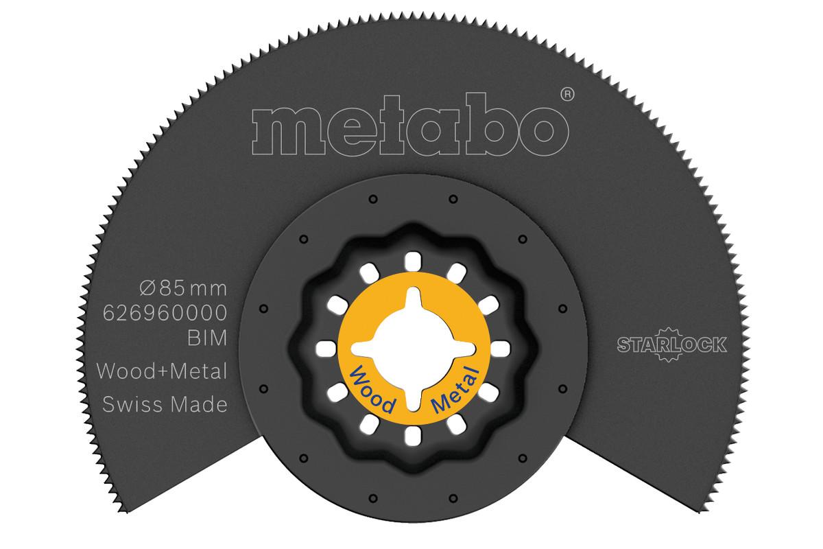 Hoja de sierra de segmento, madera/metal, BiM, Ø85 mm (626960000)