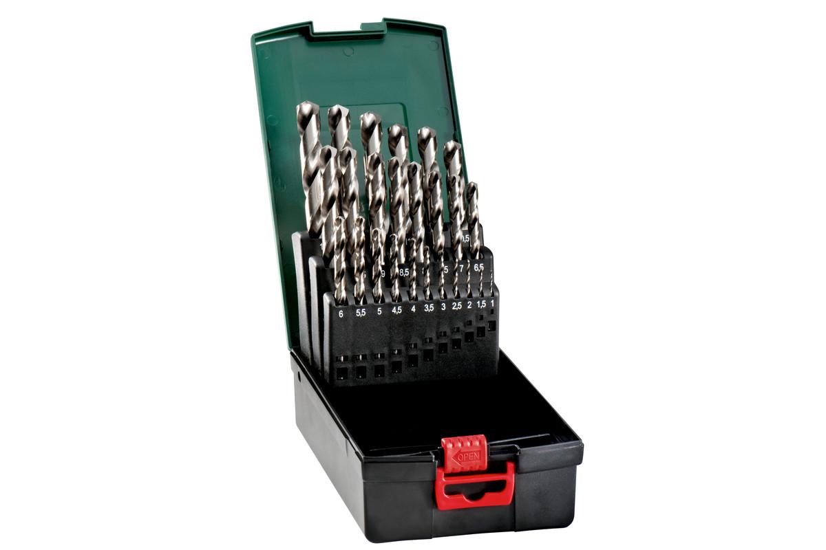 Estuche de brocas HSS-G de 25 piezas (627098000)