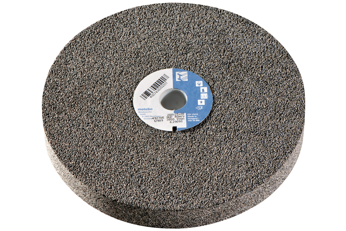 Disco abrasivo 200x25x20 mm, 36 P, CZr,esmeril.doble (629093000)