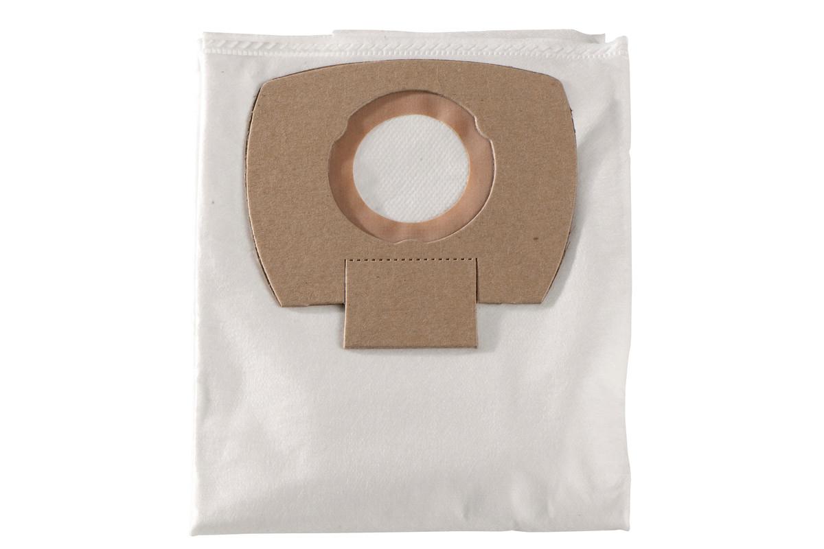 5 bolsas de filtro de vellón - 25/30 l, ASA 25/30 L PC/ Inox (630296000)