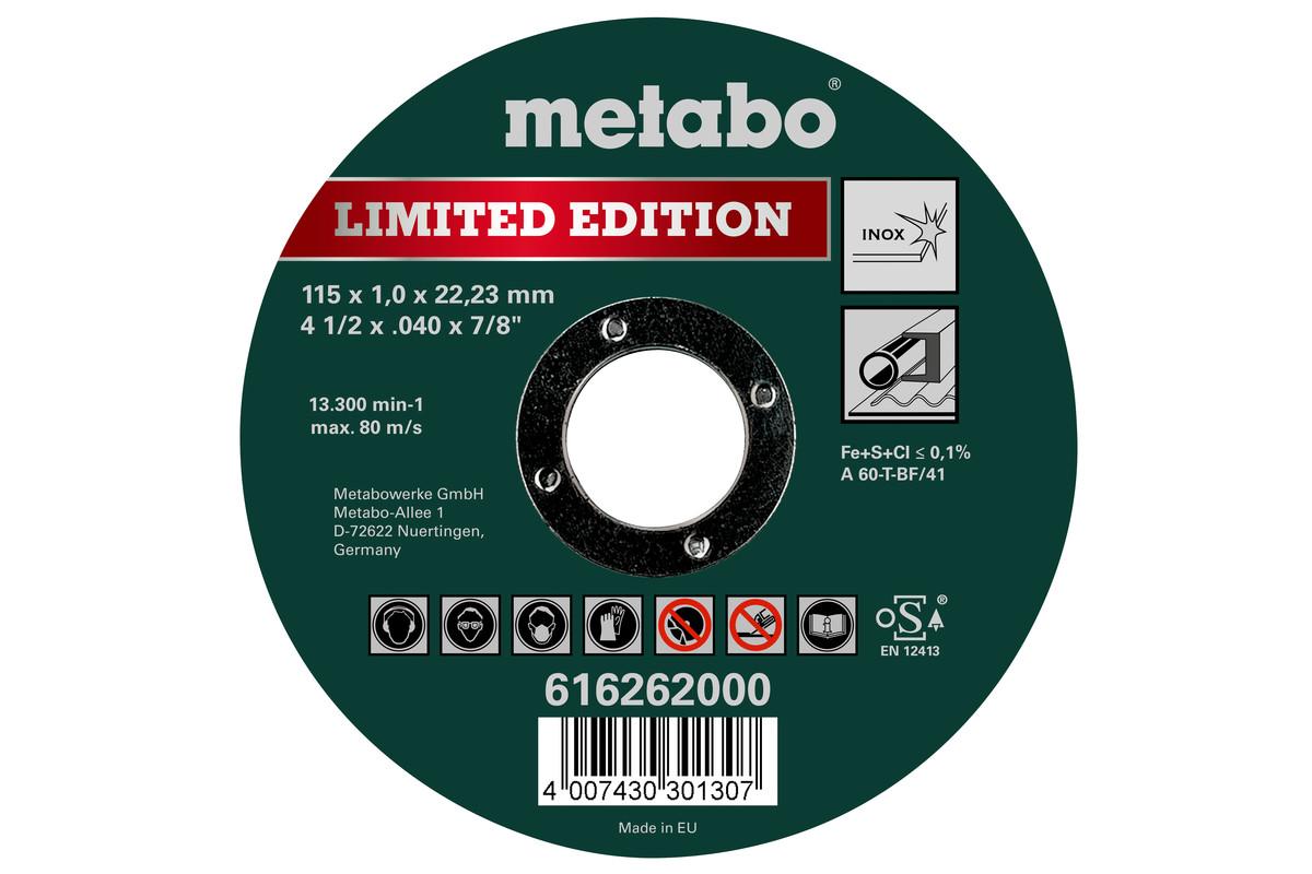 Edición limitada 115 x 1,0 x 22,23 Inox, TF 41 (616262000)