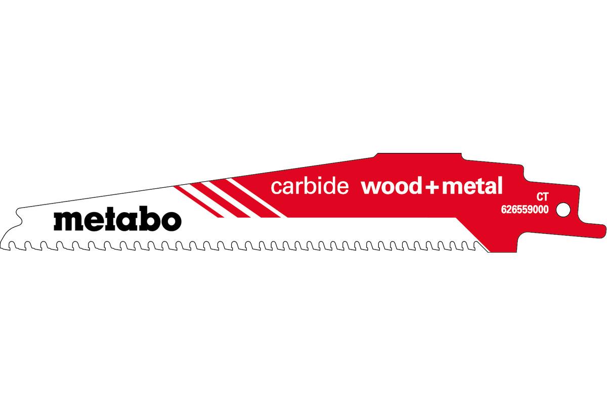 "Hoja para sierras de sable ""carbide wood + metal"" 150 x 1,25 mm (626559000)"