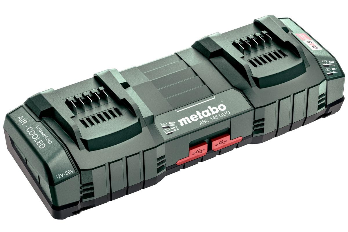 """Cargador rápido doble ASC 145 DUO, 12-36 V, """"AIR COOLED"""", UE (627495000)"""