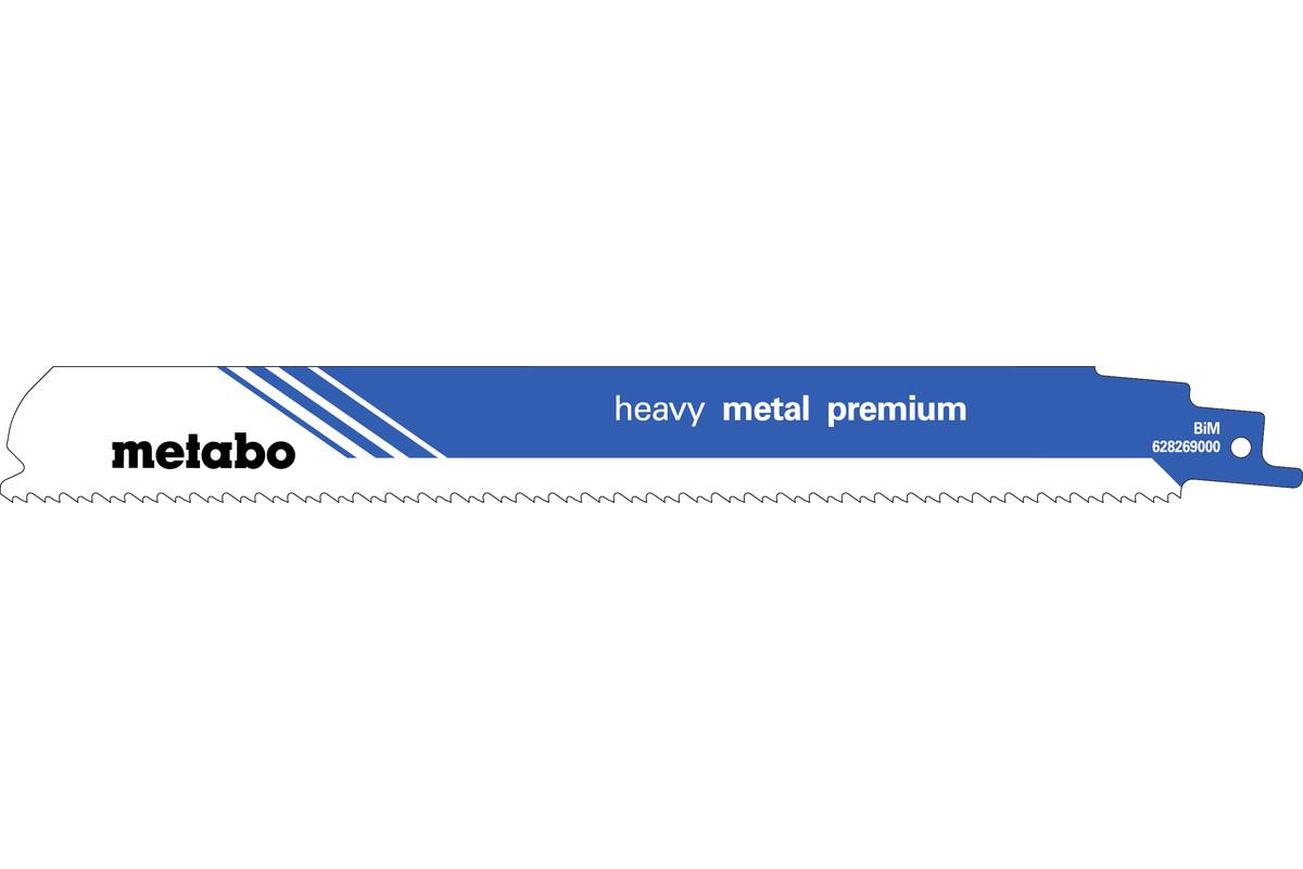 """2 hojas para sierras de sable """"heavy metal premium"""" 225 x 1,1 mm (628269000)"""
