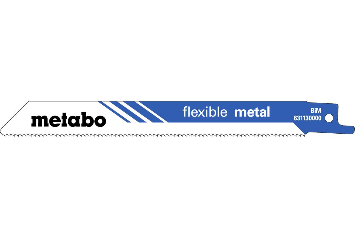 """2 hojas para sierras de sable """"flexible metal"""" 150 x 0,9 mm (631130000)"""