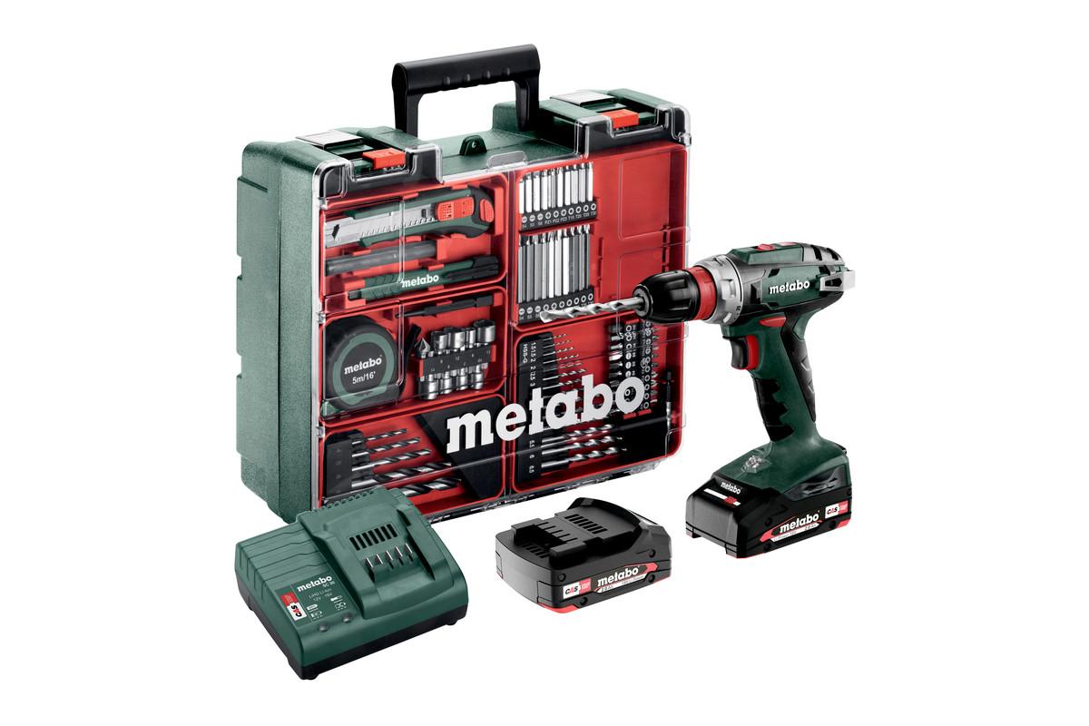 BS 18 Quick Set (602217880) Taladradora atornilladora de batería