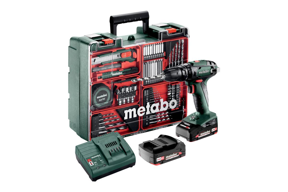 SB 18 Set (602245880) Taladro atornillador de percusión de batería
