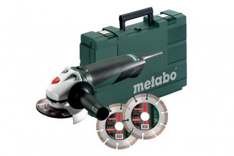 WQ 1400 Set (600346510) Amoladora angular
