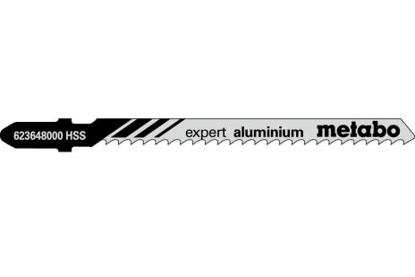 5 hojas de sierra de calar,al+metales NF.,expert,74/3,0mm (623648000)