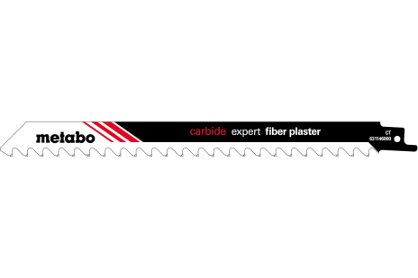 1 hoja para sierra de sable, hormigón con celdillas, expert, 300x1,5mm (631146000)