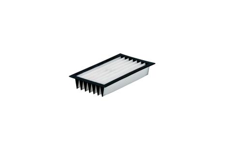 Filtro plegado para 6.31981/ 6.25599/ 6.25598, de poliéster, SR (631980000)