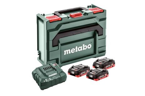 Set básico 3 x LiHD 3,5Ah + Metaloc (685133000)
