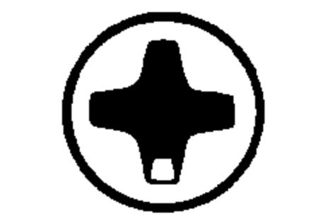Punta Phillips tam. 1/ 89 mm (624456000)
