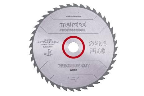 "Hoja de sierra ""precision cut wood - professional"", 254x30, D40 DI 20° (628059000)"