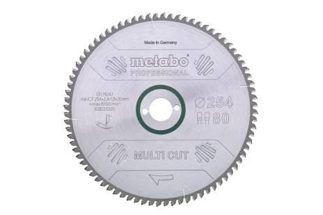 """Hoja de sierra """"multi cut - professional"""", 250x30, D80 DP/DT, 5° neg. (628088000)"""
