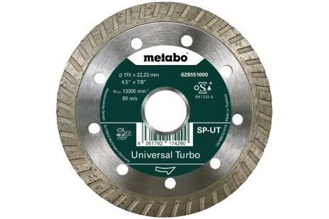 "Disco de cortar de diamante 115x22,23mm, ""SP-UT"", Universal Turbo ""SP"" (628551000)"