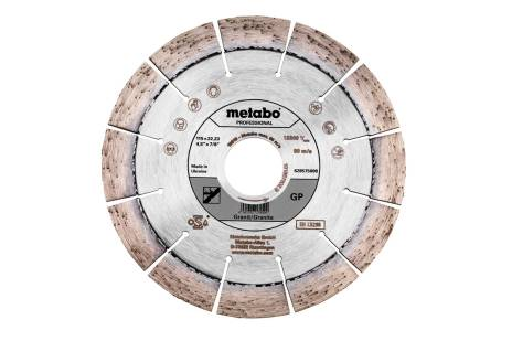 "Disco de cortar de diamante 115x22,23mm, ""GP"", Granit ""professional"" (628575000)"