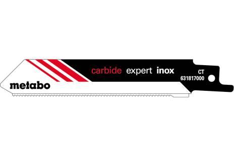 "2 hojas para sierras de sable ""expert inox"" 115 x 1,25 mm (631817000)"