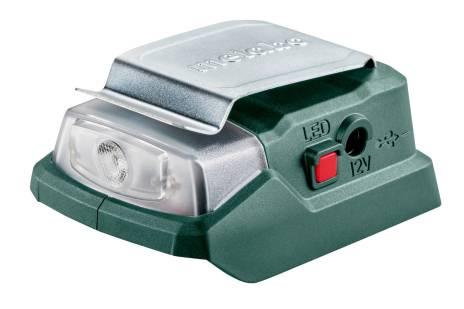 PowerMaxx PA 12 LED-USB (600298000) Adaptador Power de batería