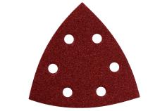 25 hojas de lijar adhesivas, surt. madera+metal,para lijadoras triangulares (624988000)