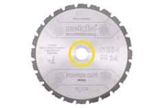 Hoja de sierra circular HW/CT 254x30, 24 DI 20° (628025000)
