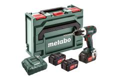 BS 18 LT Set (602102960) Taladradora atornilladora de batería