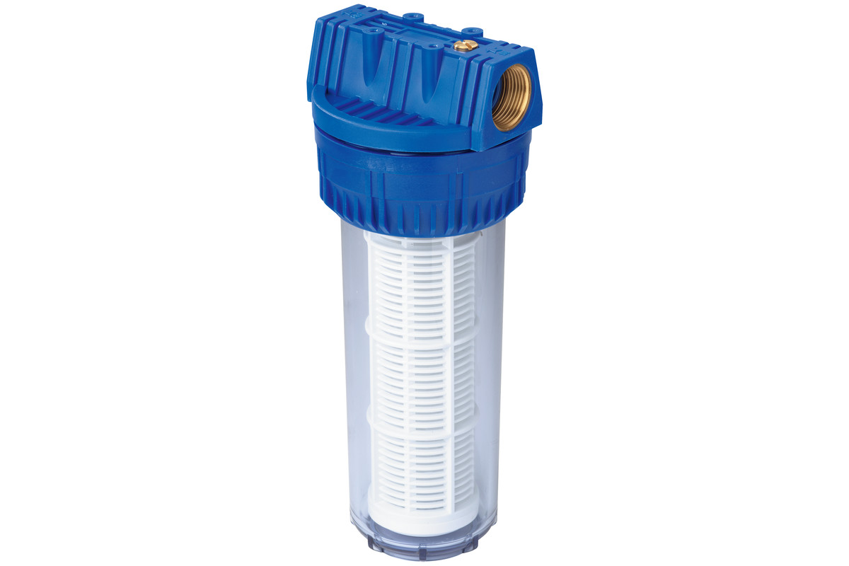 """Filtre 1"""" long, avec cartouche pour filtre lavable (0903050306)"""