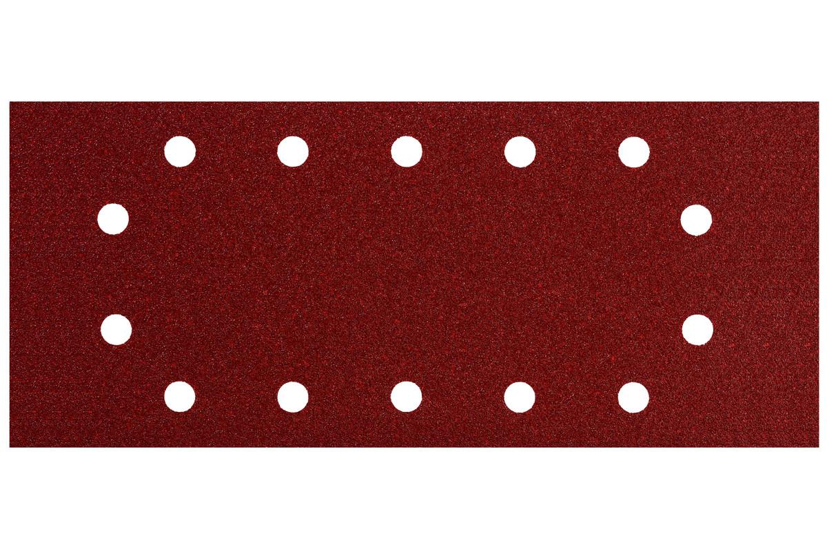 10 feuilles abrasives auto-agrippantes 115 x 280 mm, P 240, B+M, pour ponceuse vibrante (624497000)