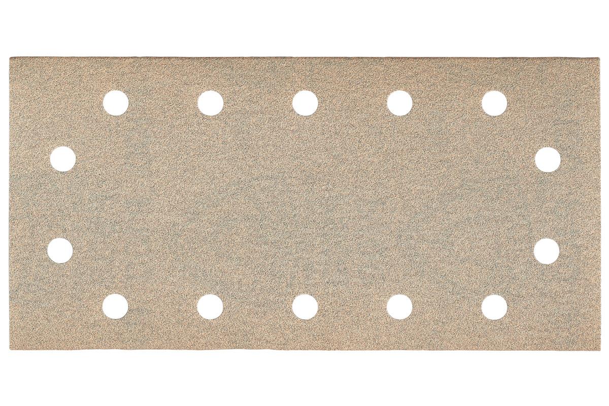 25 feuilles abrasives auto-agrippantes 115 x 230 mm, P 80, peinture, pour ponceuse vibrante (625893000)