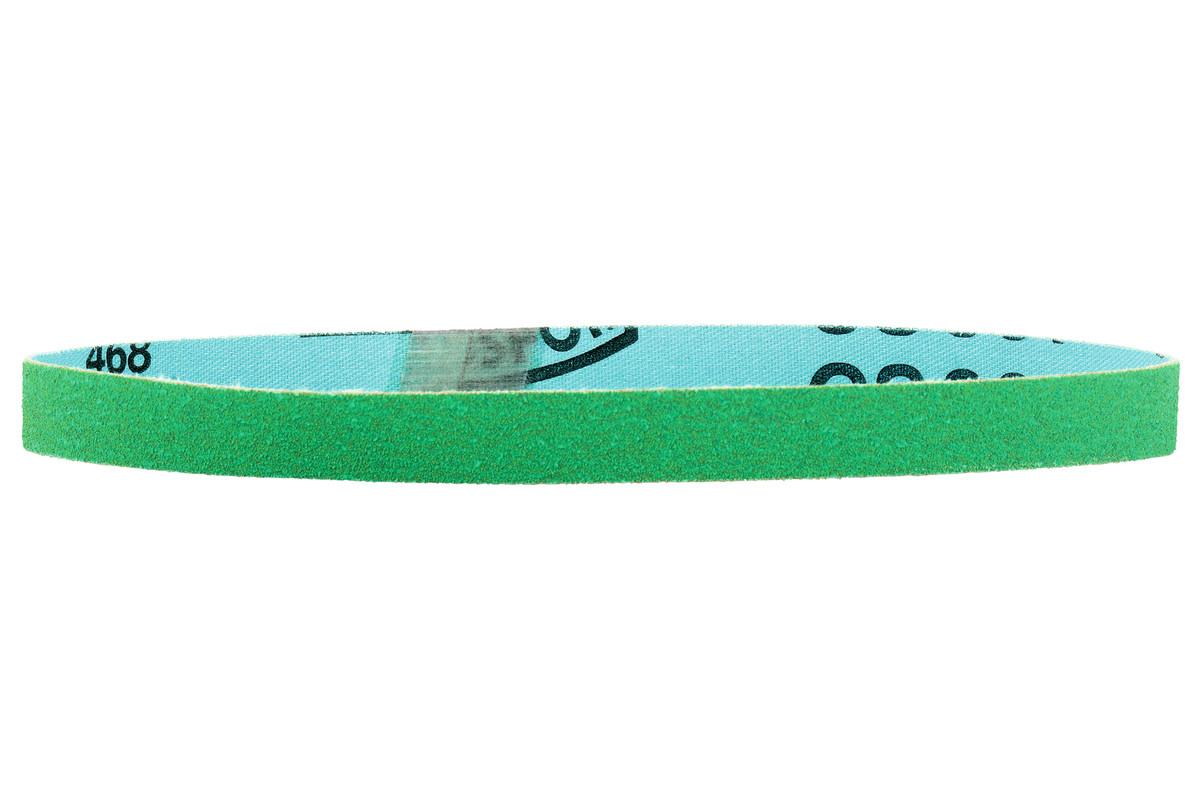 10 bandes abrasives 19 x 457 mm, P120, grain céramique, limes à bande (626367000)