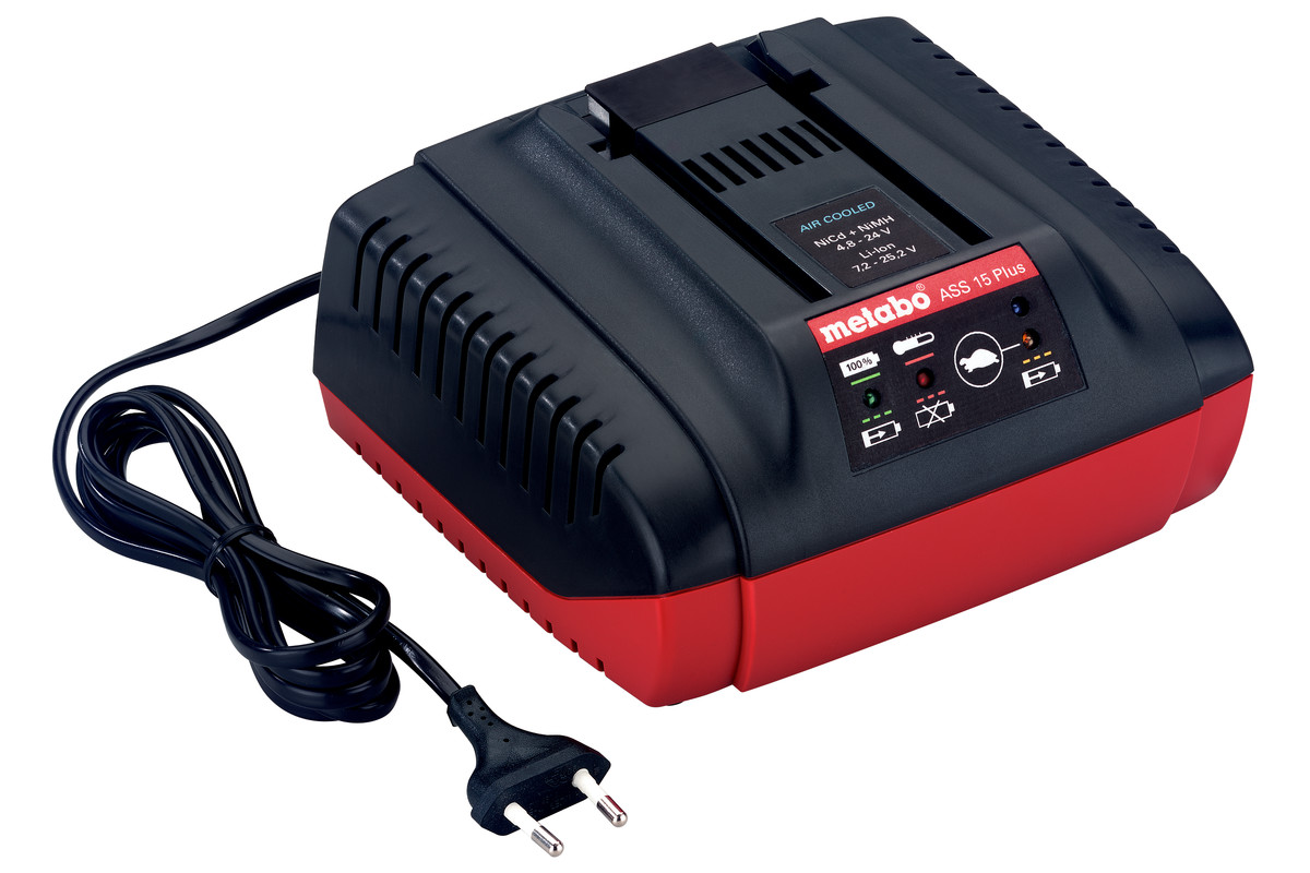 Chargeur rapide ASS 15 Plus, 24-25,2 V, « AIR COOLED », EU (627283000)