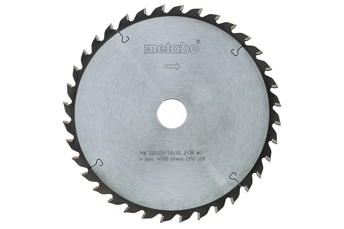 Lame de scie circulaire HW/CT 152 x 20, 12 FZ 15° (628001000)