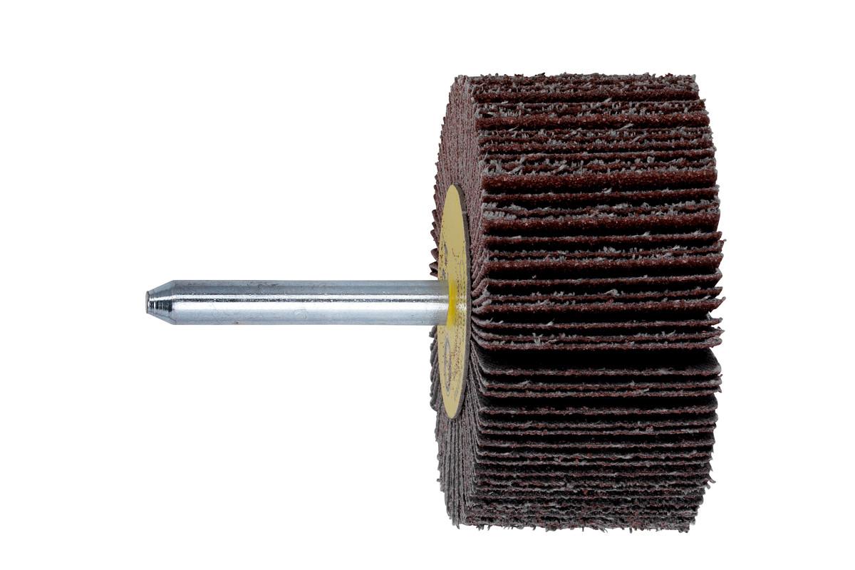Roue abrasive à lamelles 80 x 40 x 6 mm, P 60, corindon brun (628396000)