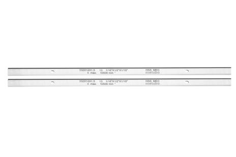 2 fers de rabot HSS, DH 330/316 (0911063549)
